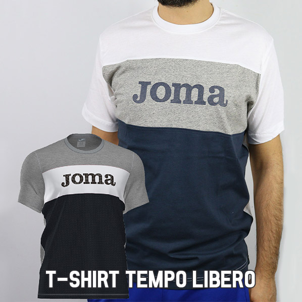 Linea t-shirt joma sport uomo tempo libero 2020