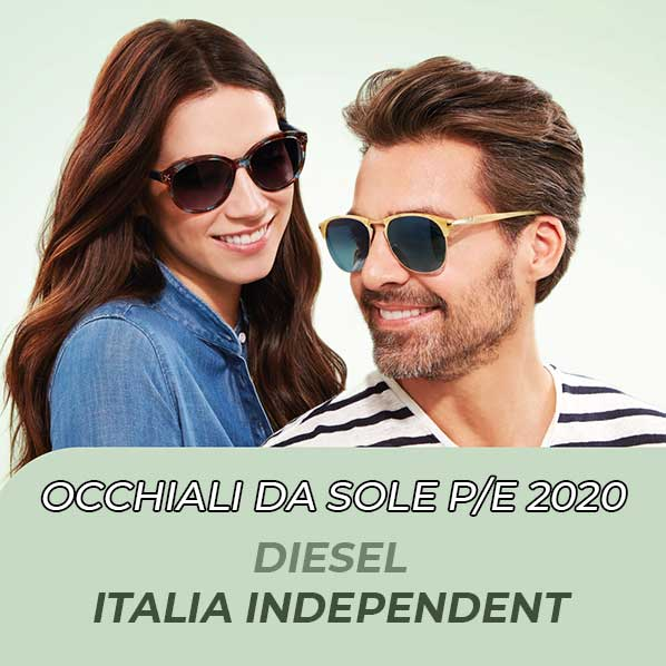 Occhiali da sole Diesel Italia Independent Primavera Estate 2020