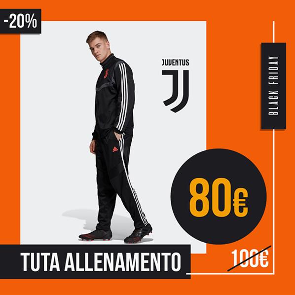 Black Friday 2019 tuta allenamento Juventus