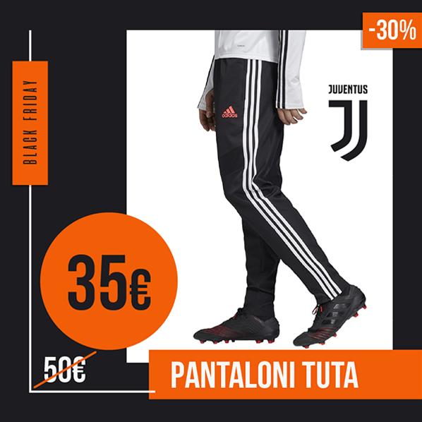 Black Friday 2019 pantaloni tuta Juventus