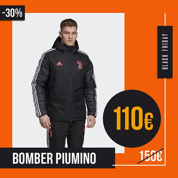 Black Friday 2019 bomber piumino Juventus