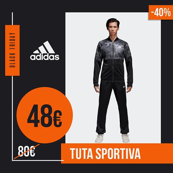 Black Friday 2019 tuta sportiva adidas