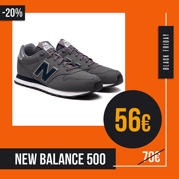 Black Friday 2019 sneakers New Balance 500