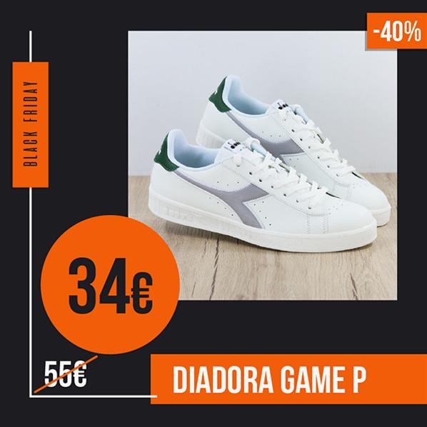 Black Friday 2019 sneakers Diadora Game P