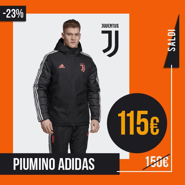 Saldi Sconti 2019 2020 Bomber e Piumini Adidas Juventus