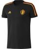Belgio Belgium Adidas Maglia Allenamento Training Tee top Nero Mondiali 2018
