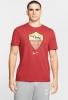 T-shirt Leisure AS ROMA Nike Tee EVERGREEN 2020 Men Red Original
