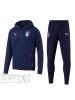 Italia FIGC Puma Tuta Sportiva Sport Tracksuit Casual Performance Sweat Blu