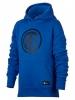 Inter fc Nike Felpa Cappuccio Hoodie Ragazzo Azzurro pullover 2017 18 Cotone