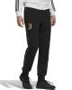 Sport Suit Pants JUVENTUS Adidas 3 Stripes Sweat Cotton Man Black 2020 21 Pockets with zip