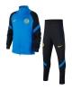 Training Tracksuit FC Inter Nike Dry Strike Bench version BOY 2020 21 Black blue
