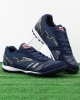 Football boots Shoes Joma Mundial 903 Turf Trainers Man Blue Original genuine leather
