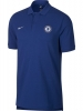 Polo Shirt Chelsea FC Nike Sportswear Cotton Man 2018 19 Blue Original