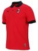 Ac Milan Puma Polo Maglia Badge Tango Rosso Cotone 2018 19