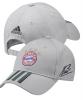 Bayern Monaco Adidas Cappello Berretto tg Unisex Grigio 3 S Signature Cotone