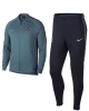 Chelsea Fc Nike Dry knit Tuta Allenamento Training Blu versione Panchina
