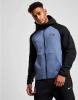 Sportliche Sweatshirtjacke Inter Nike Sportswear Tech Fleece Schwarzer Mann Mit Baumwollkapuze