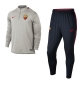 As Roma Nike Tuta Allenamento Training Mezza Zip Drill Mezza zip Grigio 2018