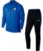 Inter fc Nike Tuta Allenamento Training Blu Dry Squad Panchina 2017 18