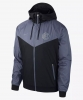 Inter fc Nike Giacca Sportiva Sportswear Jacket 2018 19 Windrunner Nero Normale
