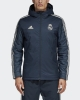Bomber Down Winter jacket REAL MADRID adidas 2018 19 Man Navy Original
