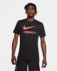 Leisure T-shirt Jersey LFC LIVERPOOL Nike evergreen crest 2021 Man Black Original