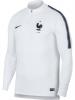 Drill Top Francia Nike Felpa Allenamento Bianco Mondiali 2018