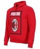 Hooded sweatshirt AC MILAN Puma Big Logo Cotton 2018 19 Red man