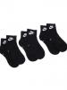 Socks Nike U NK NSW Everyday Essential Ankle 3 Pack Unisex Original Black
