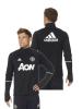Top Manchester United Adidas Felpa Allenamento Training Sweatshirt Nero 2016 17