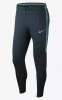 Tottenham Fc Nike Pantaloni tuta Pants Blu TASCHE a ZIP Training Dry Squad