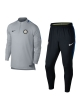 Inter fc Nike Tuta Allenamento Training Mezza Zip Drill 2018