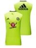 Chelsea Fc Adidas Maglia Allenamento Training smanicato canotta Giallo 2016 17