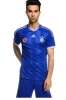 Fußball Jersey Trikot Fenerbah und Adidas Third kurzen Ärmeln original blauen Mann Climacool 2014 15