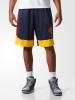 Adidas Pantaloncini Shorts Cleveland Cavaliers Nba Blu con tasche 2017 Uomo