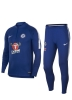 Chelsea Fc Nike Tuta Allenamento Training 2018 19 Mezza zip Blu