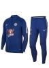 Trainingsanzug Chelsea FC Nike Half Zip Herren blau 2018 19