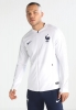 Francia Nike Giacca Allenamento Training Mondiali 2018 Bianco Uomo