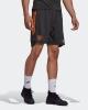 Training shorts Manchester United Adidas men 2020 21 AEROREADY Pockets with zip Gray