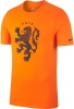 Leisure t-shirt Holland Nike crest Tee Men 2018 Orange Original