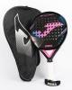 Joma Slam Pro Control ROUND Padel Racket Black Pink