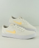 Sport Shoes Sneakers Nike SB CHARGE Canvas Man White Yellow Lifestyle