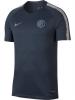 Inter fc Nike Maglia Allenamento Training Blu Breathe Dry Squad Top 2018 19