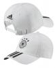 Germania Germany Adidas Cappello Berretto Unisex Bianco 3 stripes cotone