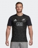 Training Jersey Shirt All Blacks New Zeland Adidas Performance Tee Men 2018 19 Black