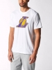 T-shirt leisure Original adidas basket-ball Fanwear NBA Los Angeles Lakers White