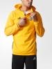 Fleece Sweatshirt Training Top half zip hooded Juventus Original adidas Men 2016 17 yellow