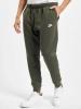 Pants Suit Sweatshirt Cotton Nike Sportswear NSW Club Jogger FT Man Green