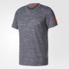 T-Shirt Adidas All Blacks Rugby Performance Tee 2017 Grauer Mann