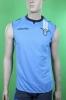 SS Lazio Macron Maglia Allenamento Training smanicato canotta Azzurro 2013 14